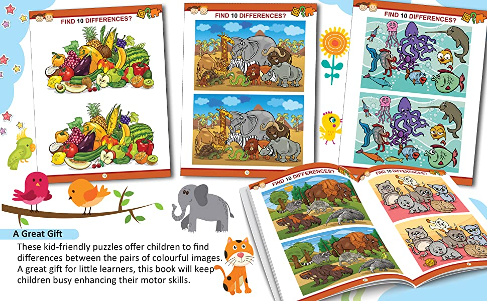 My Activity- Find the Difference Activity Book