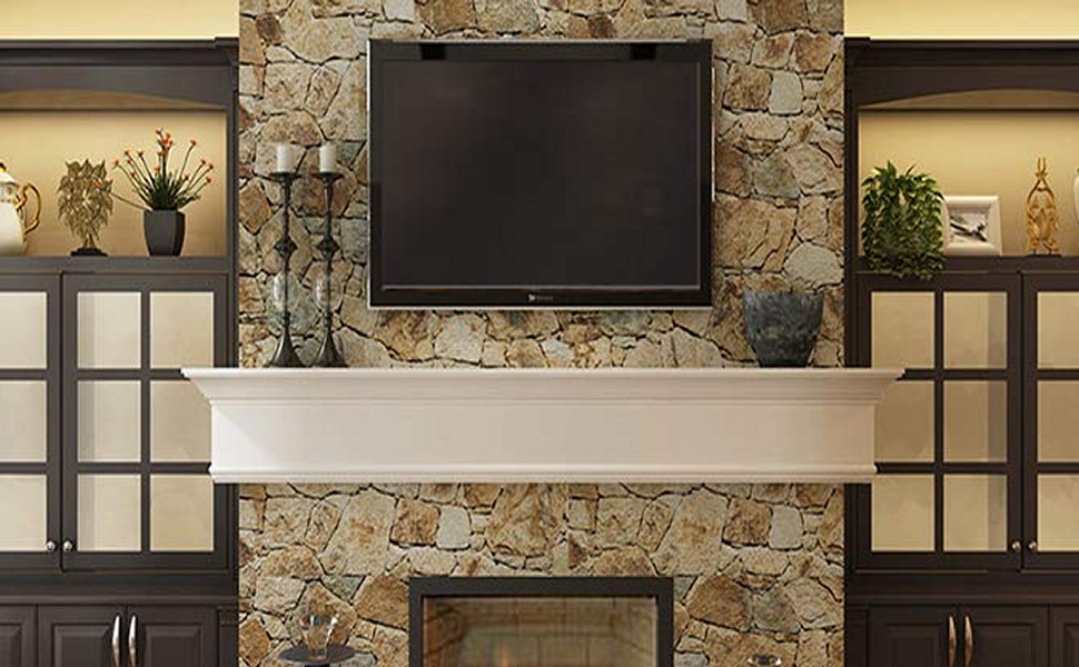 Billion Dollar Art Gallery Fireplace HDTV TV Frame