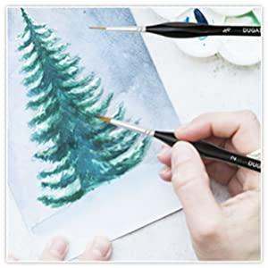 acrylic paint brush