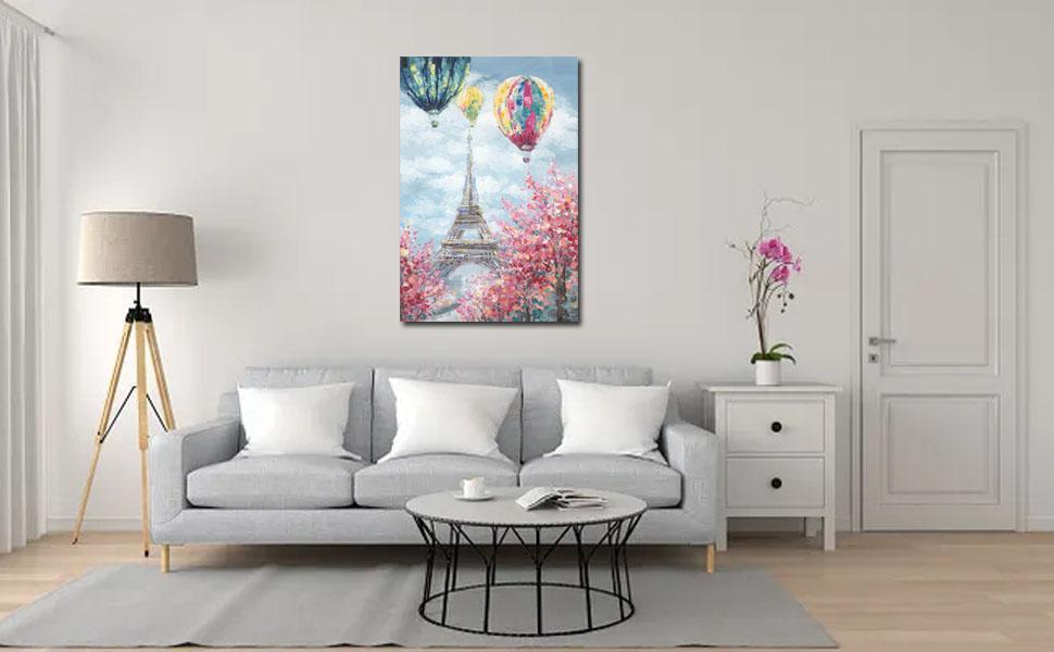 Eiffel Tower paint
