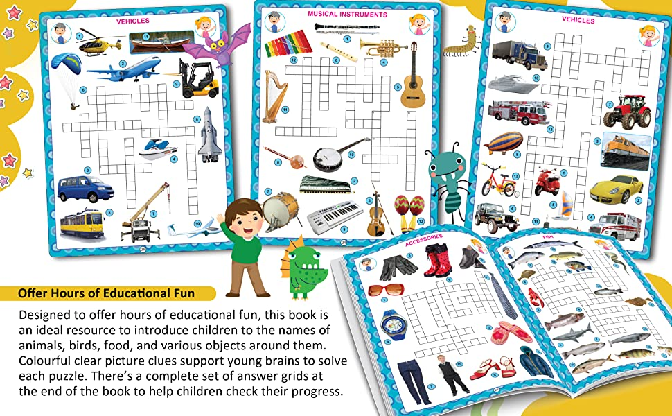 My Activity- Crossword Activity Book