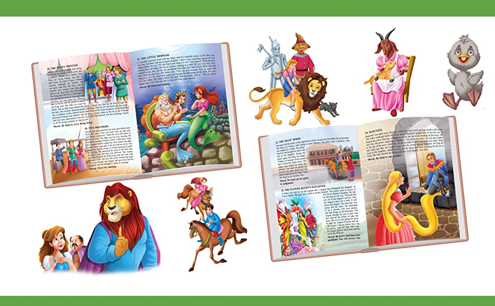Fairy tales, children fiction, story book