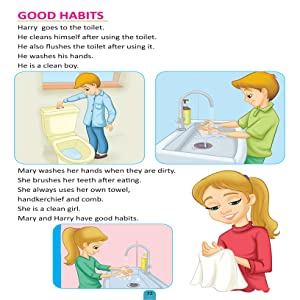 Health education, physical fitness, good habits, children education