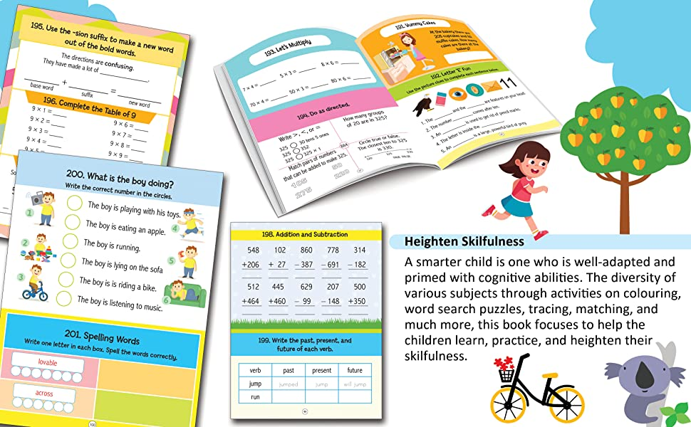 201 Activity for Kids 6+
