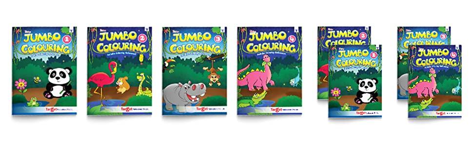 Jumbo Colouring Book Series