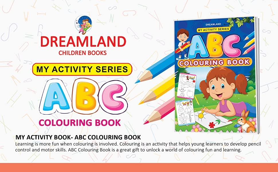 My Activity ABC Colouring,