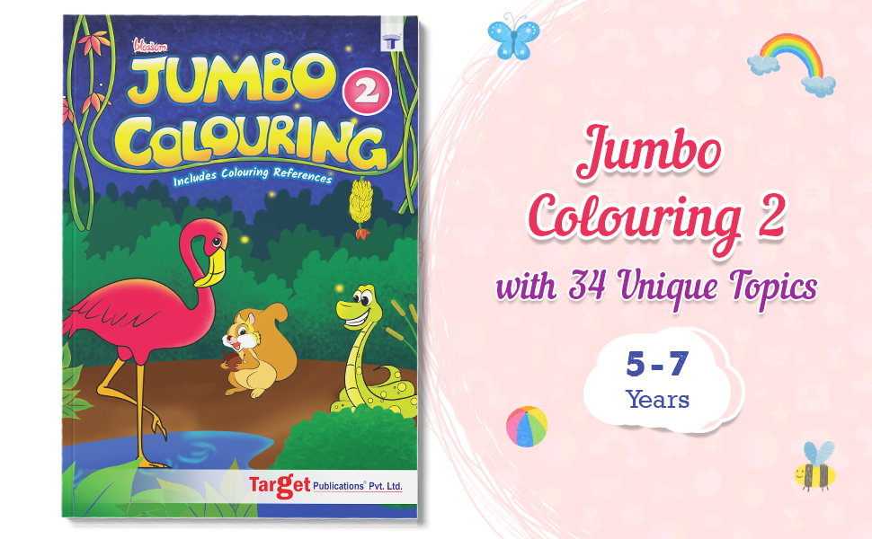 Jumbo Colouring Book Introduction