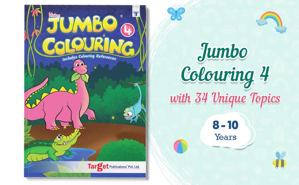 Jumbo Creative Colouring Book Introduction