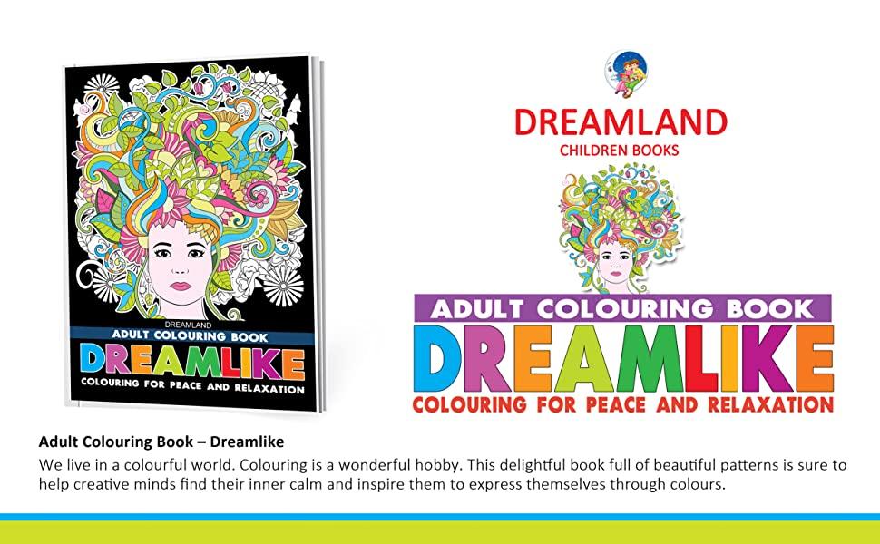 Adult colouring for peace and relaxation, Mandala, Fashion, motivation, dreamlike