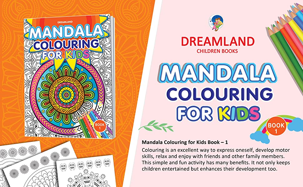 Mandala Colouring for Kids- Book 1, 9350897911