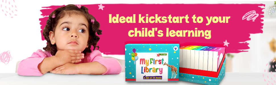 My First Library Ideal for Children