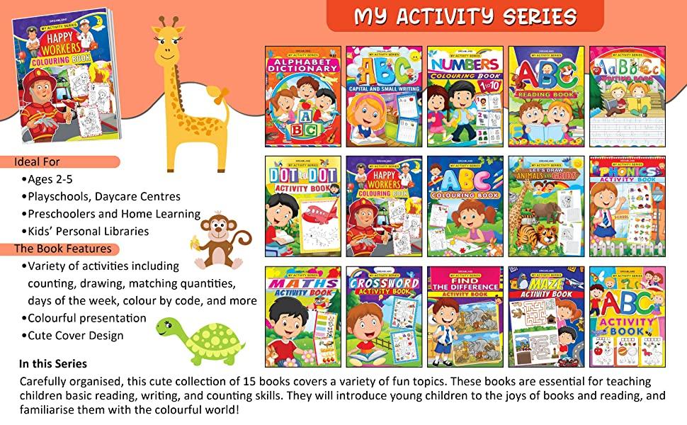My Activity- Maths Activity Book