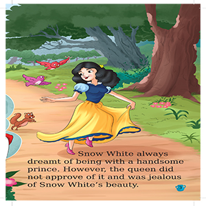 story book for kids,story of snow white,maple's children story book