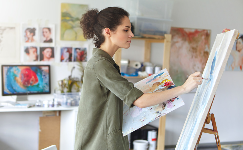 For beginners and experienced painters