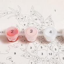 1. Corresponding color label