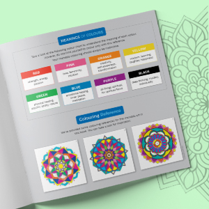 Mandala Colouring Book for Adults with Tear Out Sheets - Set of 3