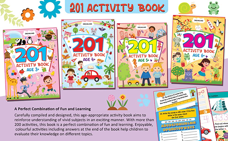 201 Activity for Kids 6 +