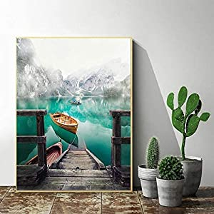 DIY Paint by Numbers Canvas Painting Kit for Kids & Adults
