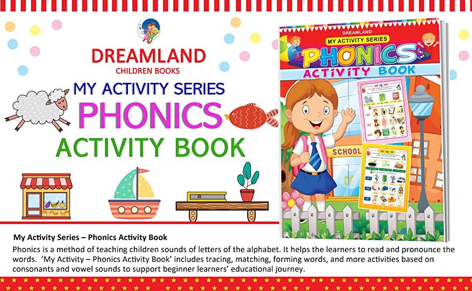 My Activity- Phonics Activity Book