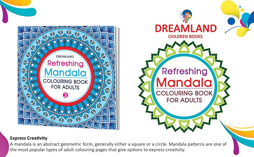 Refreshing Mandala - Colouring Book for Adults Book 4, 9350899175