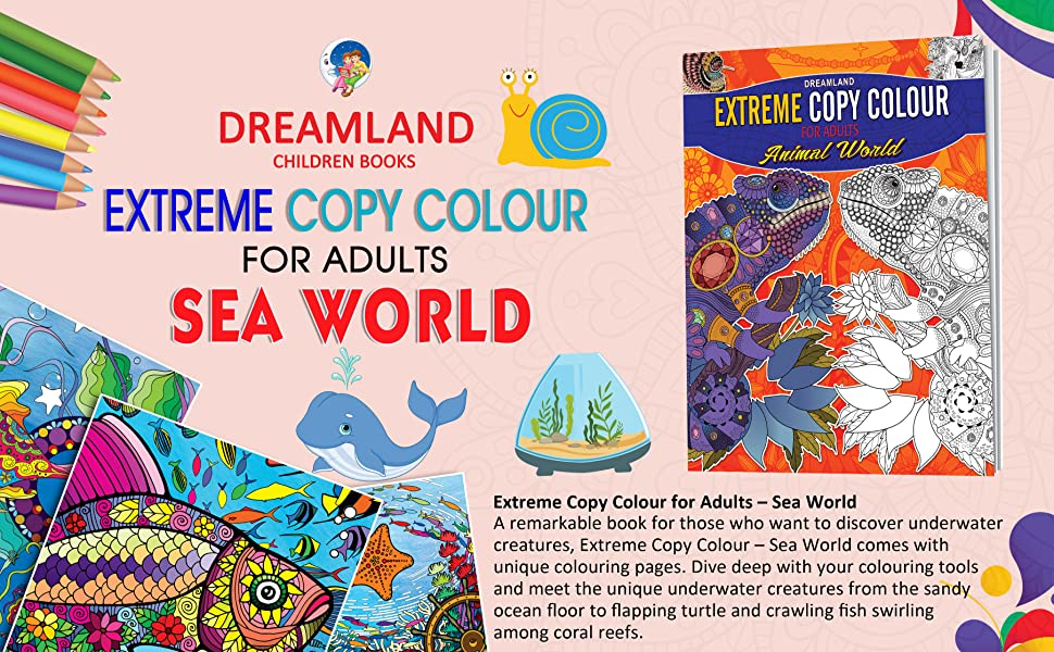 Extreme Copy Colour for Adults Sea World, 935089789X